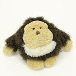 Cute Chunky Round Gorilla Stuffed Animal Doll